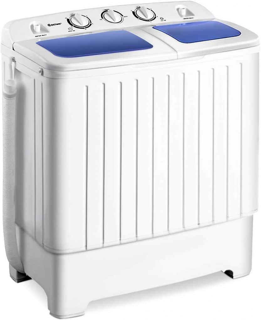 Giantex Portable Mini Compact Twin Tub Washing Machine