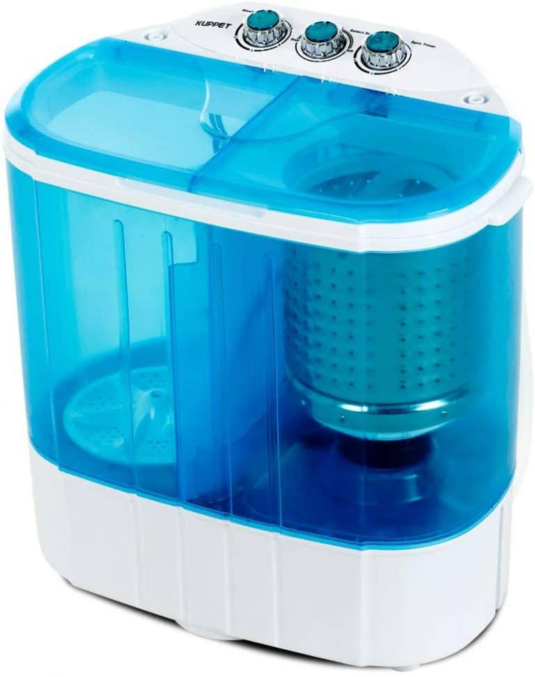 Kuppet 10lbs Compact Mini Washer (Blue)