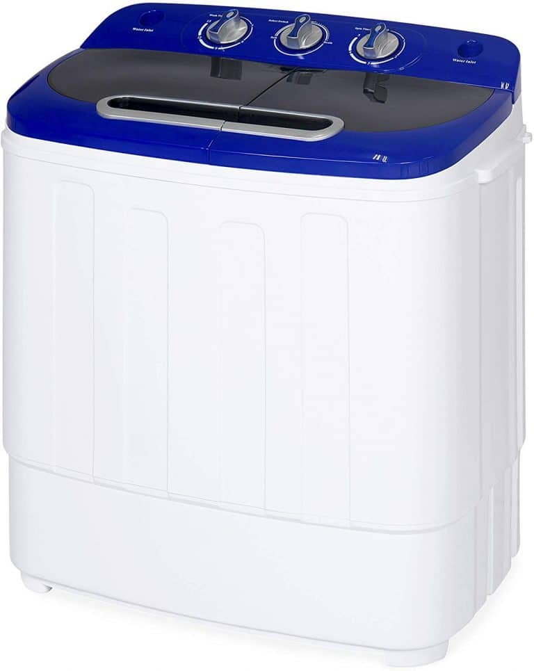 Portable Compact Twin Tub Laundry Machine & Spin