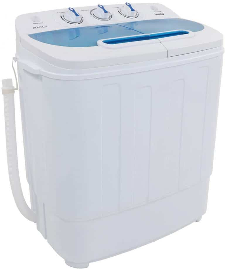ROVSUN 13.4LBS Portable Twin Tub Washing Machine