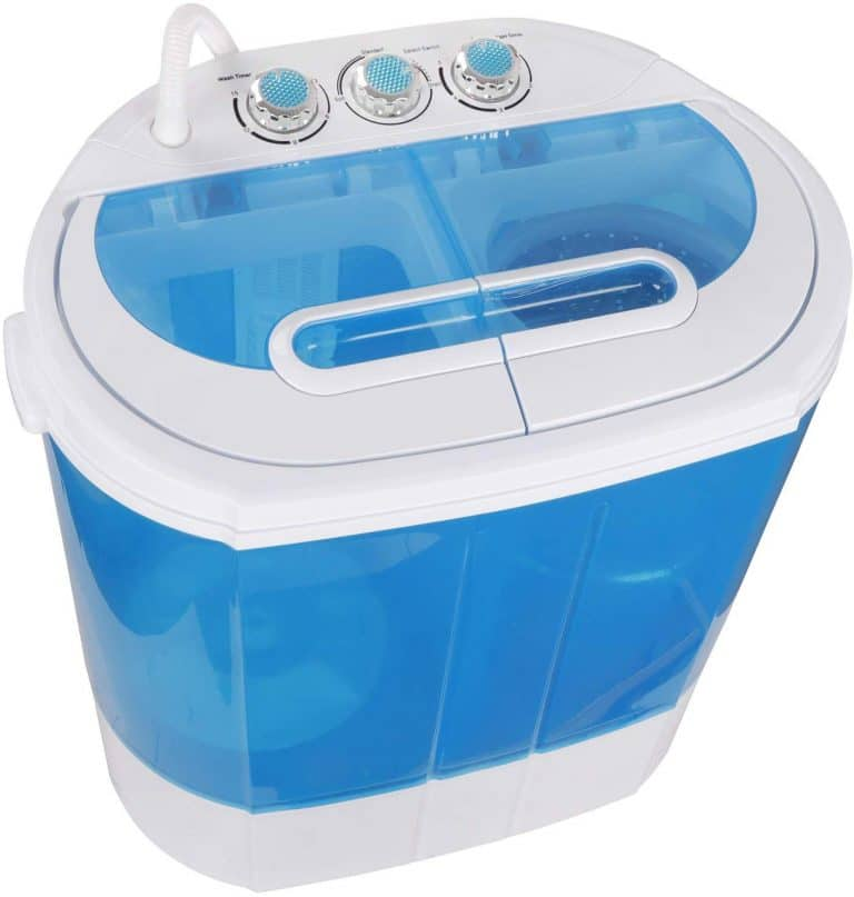 SUPER DEAL Mini Twin Tub Washing Machine
