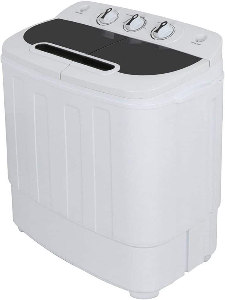 SUPER DEAL Portable Compact Mini Twin Tub