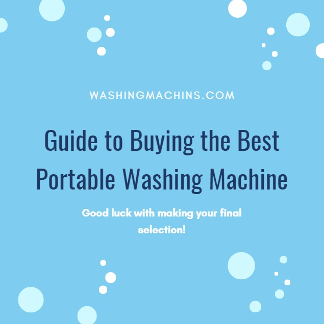 portable washing machine and dryer