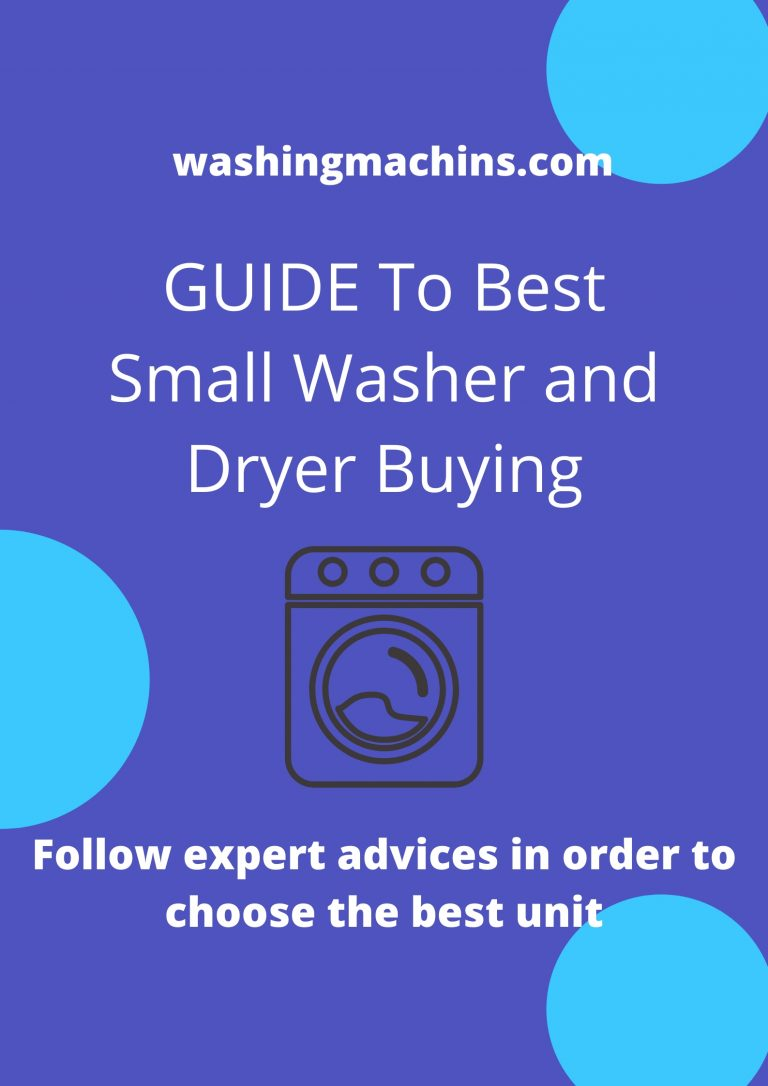 small washer and dryer combo
