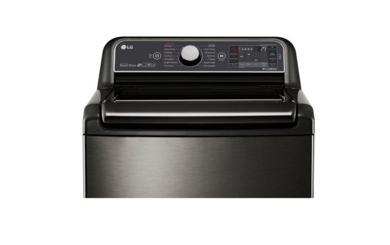 LG 5.2 top load washer WT7600HKA