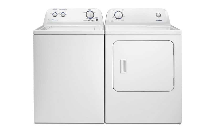 Amana Washer and Dryer.