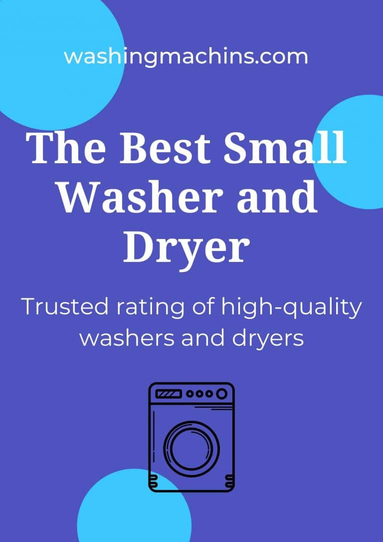 Small washer and dryer