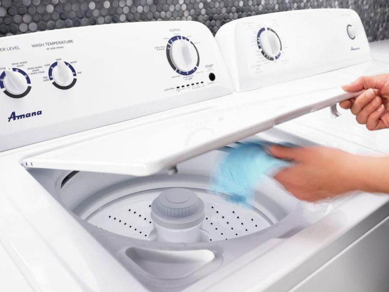amana top load washer