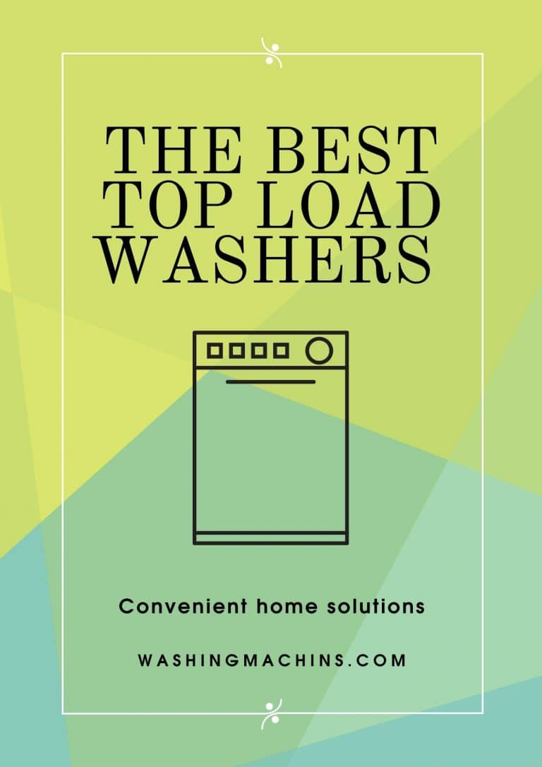 The best top load washers