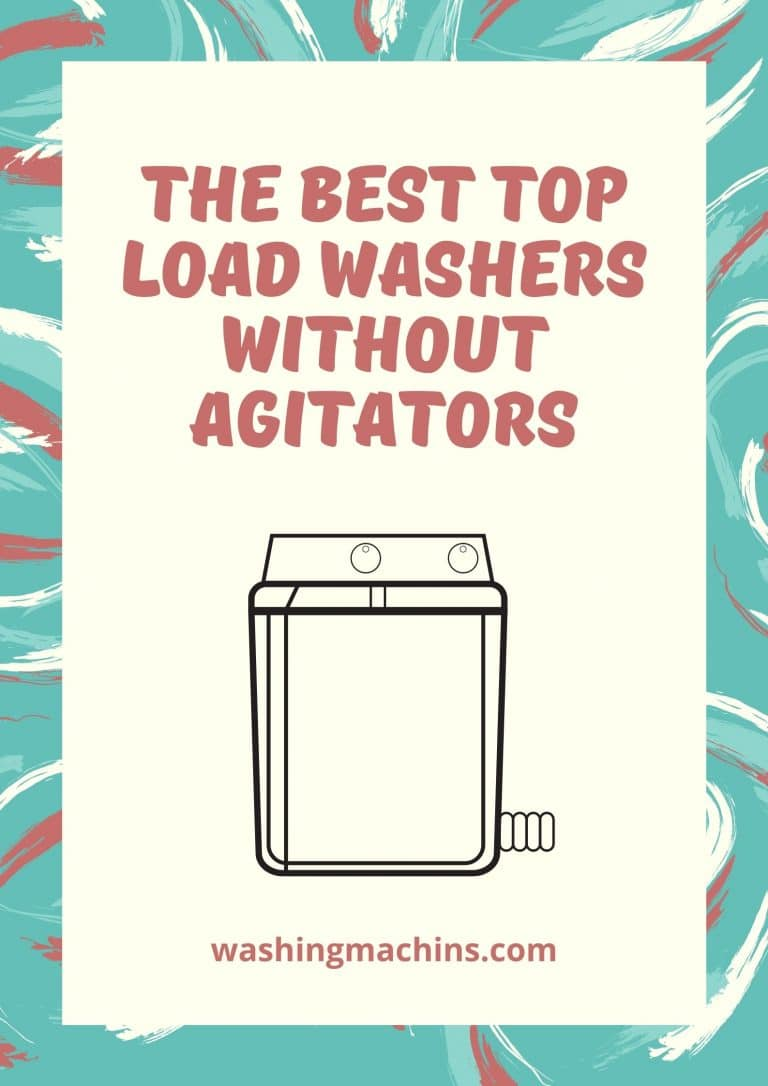 Washer without agitator