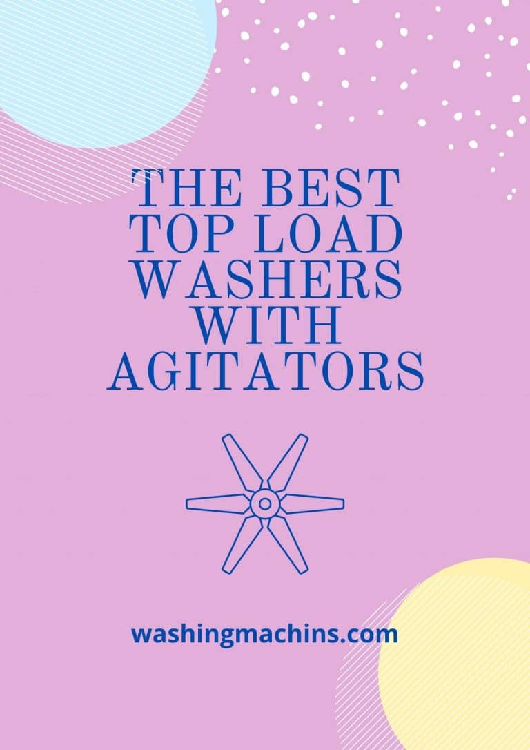 best top load washer with agitator
