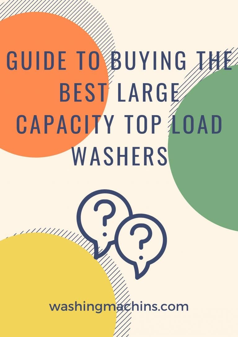 largest top load washer