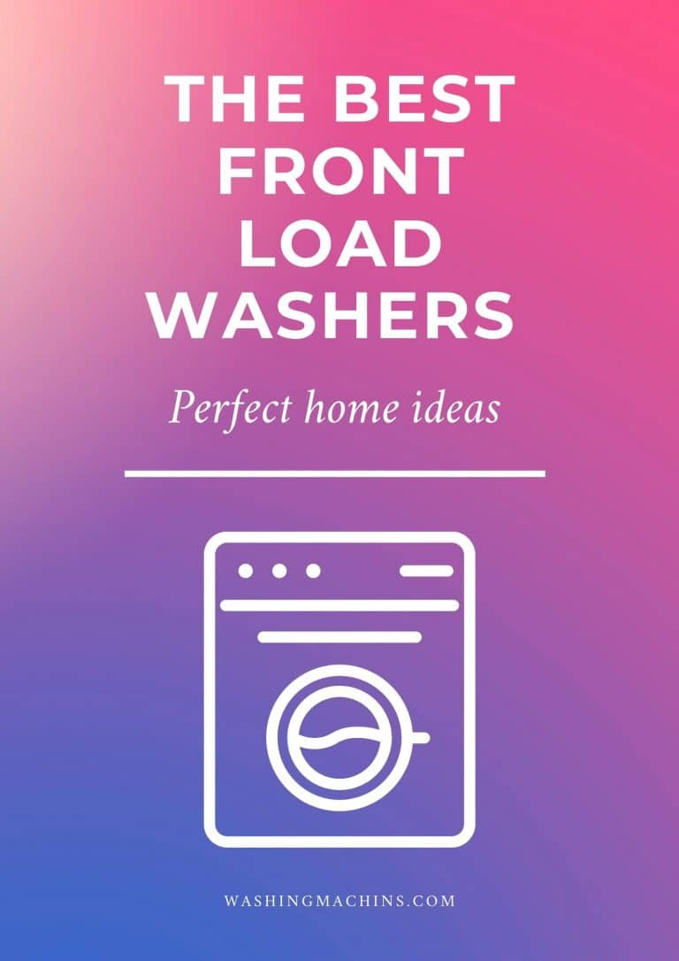 best front load washer