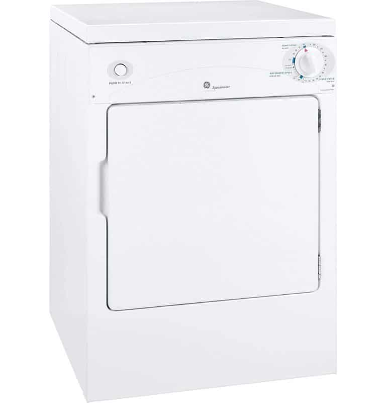 GE DSKP333ECWW Spacemaker Portable Electric Dryer review