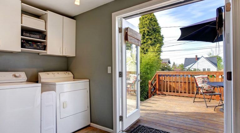 Small Laundry Room Ideas With Top Loading Washer
