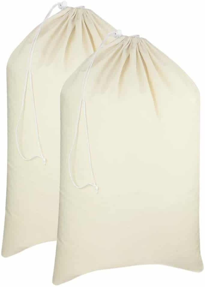 COTTON CRAFT - 2 Pack Extra Large Laundry Bags