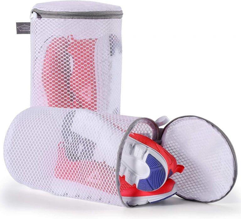 Kimmama Shoes Wash Bags Sneaker Mesh Washing Cleaning Bag