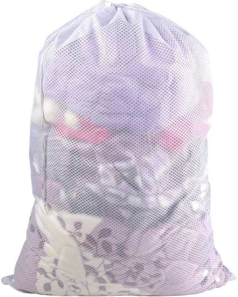 Polecasa Heavy Duty Diamond Shape Mesh Laundry Bag