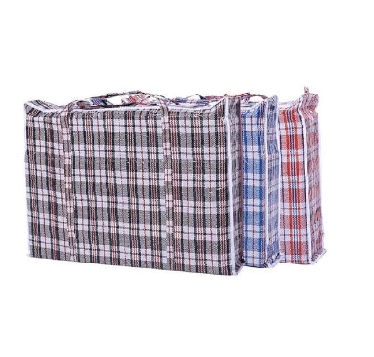 Set of 4 Extra-Large Plastic Laundry Bags review