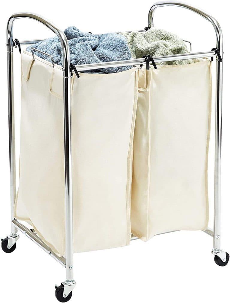 Seville Classics Mobile Sorter Bag Cart
