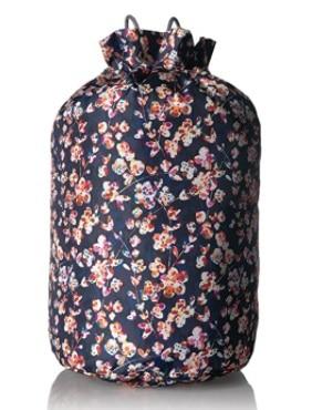 Vera Bradley Women's Lighten Up Cinch Laundry Bag