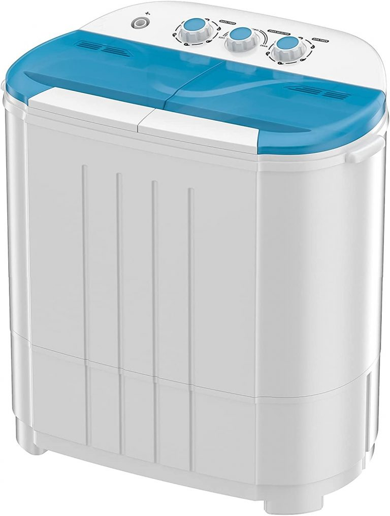 Auertech Portable Compact Twin Tub Mini Washer and Dryer