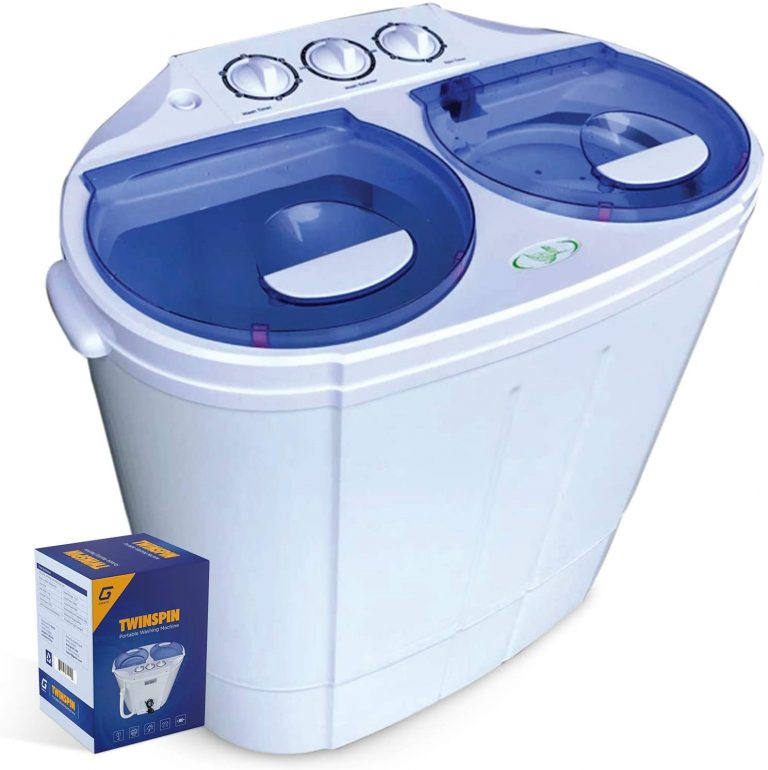 Garatic Portable Compact Twin Tub Washing Machine