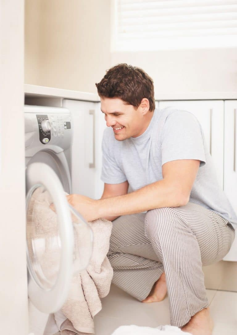 What affects the portable washing machine's energy consumption