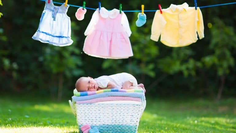 recommended small washing machine's parameters for baby