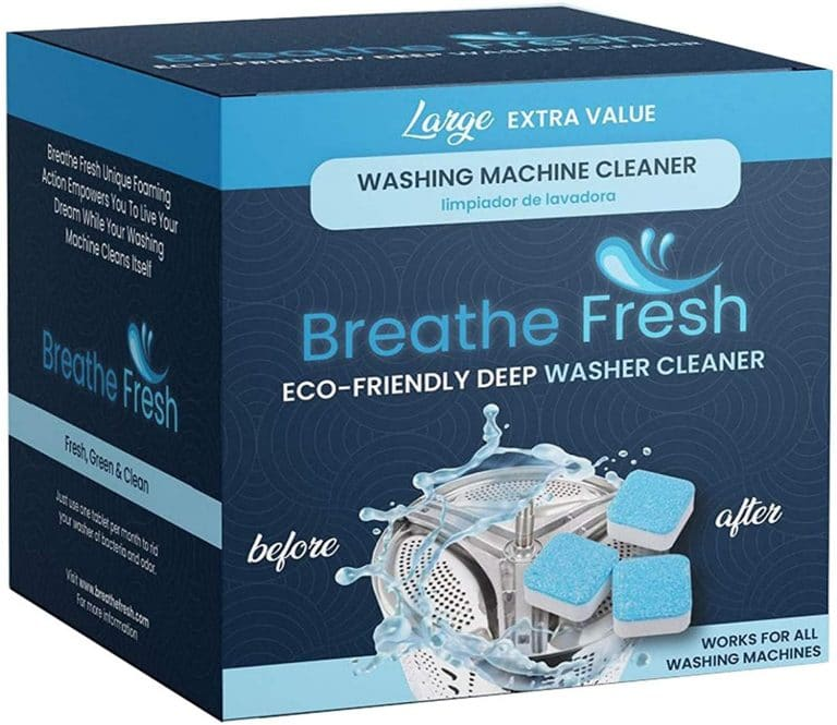 Breathe Fresh Washing Machine Cleaner Tablets (5 count)