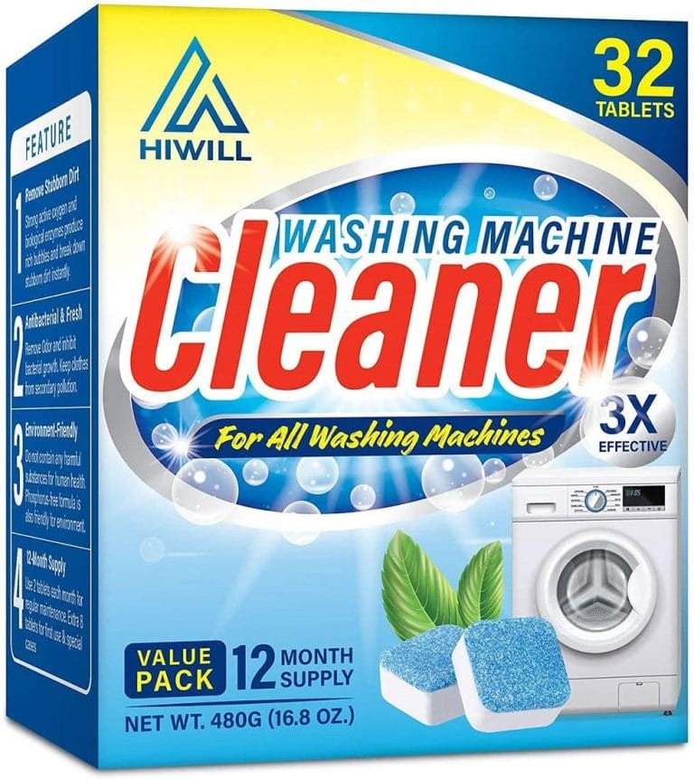 Hiwill Washing Machine Cleaner Effervescent Tablets