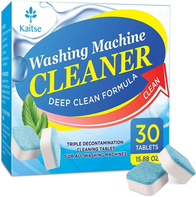 Kaitse Washing Machine Cleaner Effervescent Tablets (30 count)