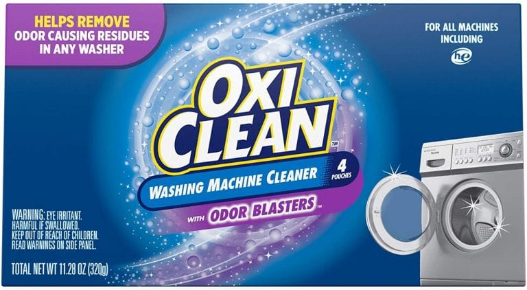 OxiClean Washing Machine Cleaner with Odor Blasters (4 count)