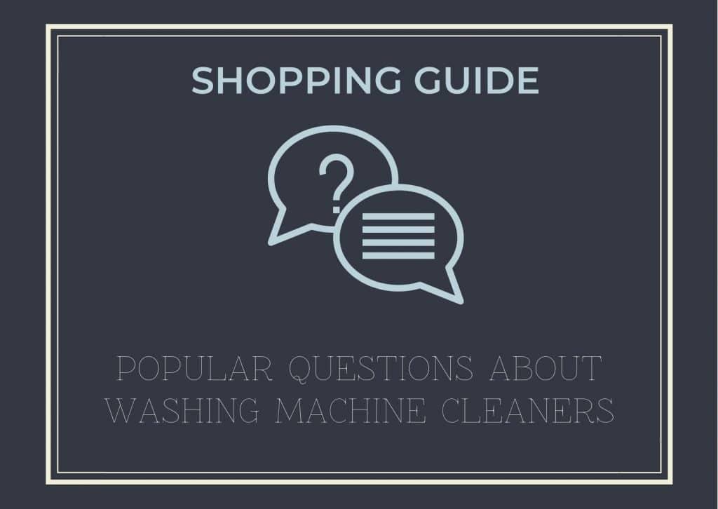 best washing machine Cleaner