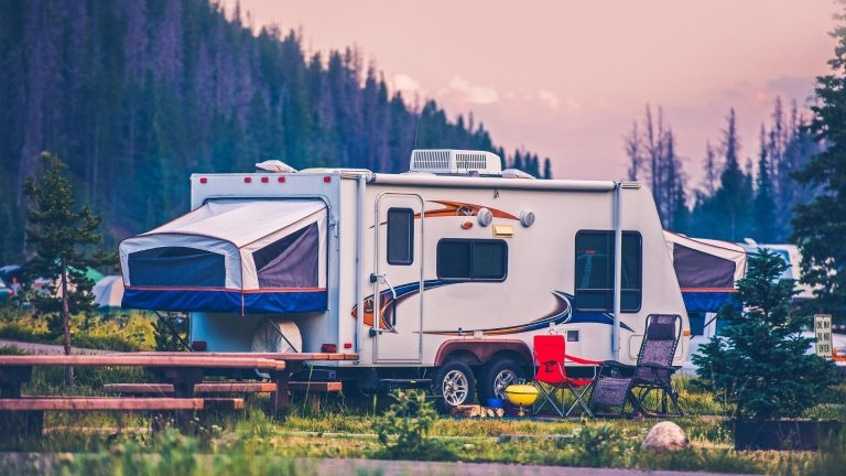 Can you leave an RV water pump on