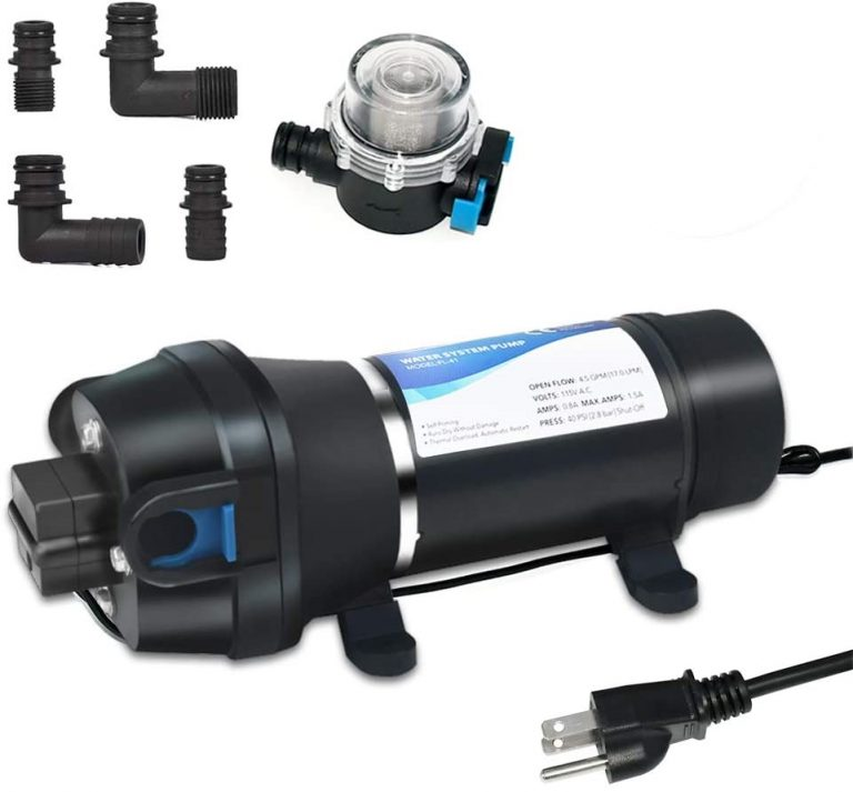 ECO-WORTHY Water Diaphragm Self Priming Pump