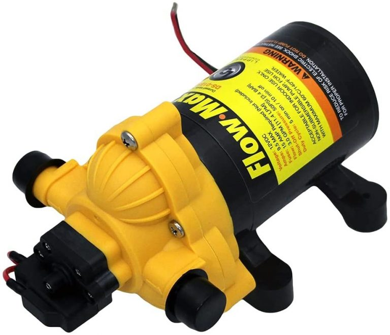 Flow Max Water Pump for RVs