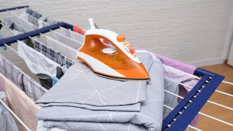 How does a portable clothes dryer work
