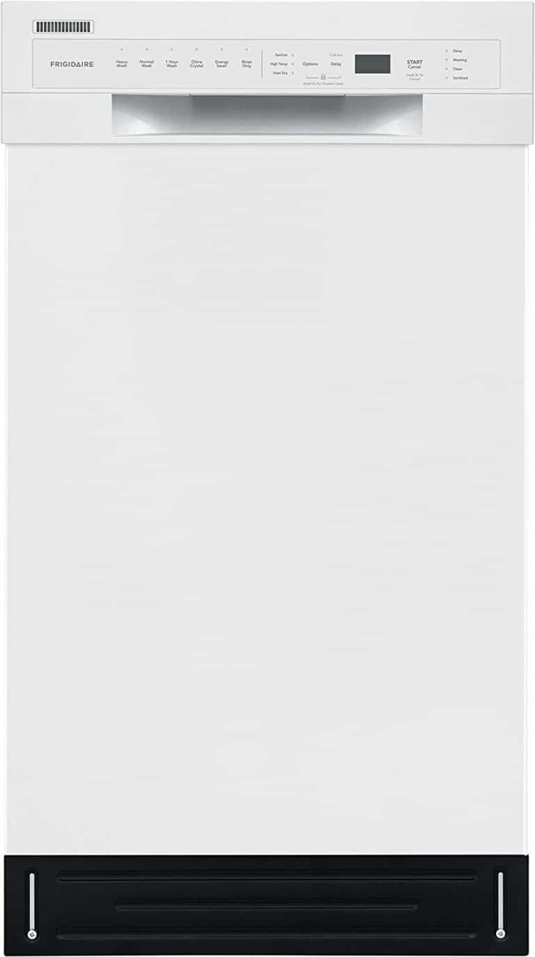 Frigidaire 18 in. ADA Compact Front Control Dishwasher
